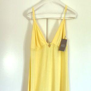 AX Armani Exchange Yellow Dress Sz L